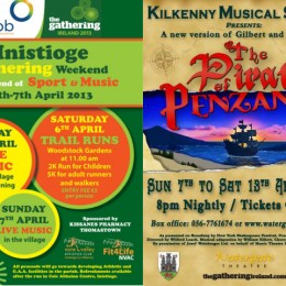 Inistioge Gathering Weekend & Kilkenny Musical Society 40th anniversary show.